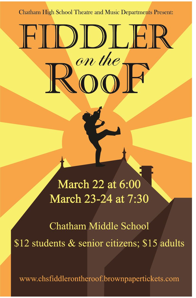 Chatham High School Presents Fiddler on the Roof