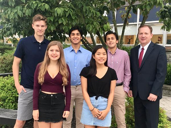 Five CHS Seniors Named National Merit Scholarship Semifinalists