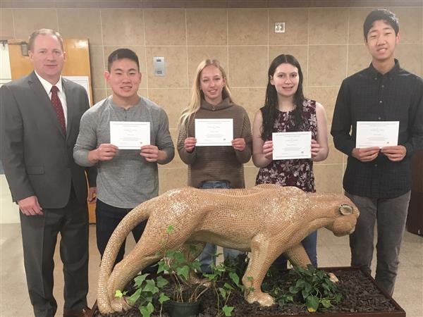 Four CHS Students Named 2019 National Merit Scholarship Finalists